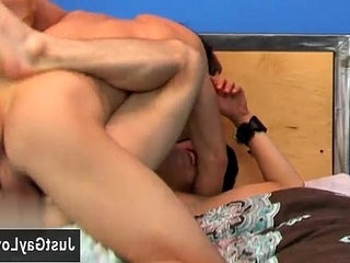 Naked men Andy Kay breaks in fresh off the hook Kyler Moss with