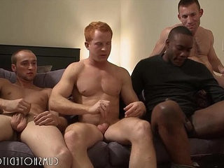 Great youthful Studs Group Orgy