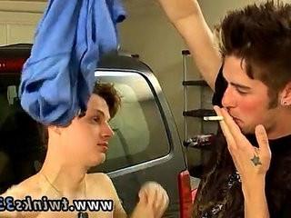 Arab gay dicks Garage Smoke hook-up!
