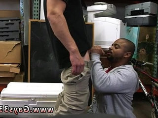Smooth chub gay sex Desperate dude does anything for money