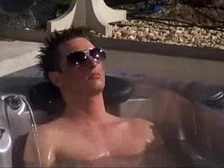 Big pecker Degouden na Hot Tub