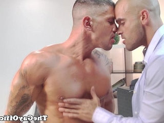 Office chief Damien Crosse plays with nutranssexual