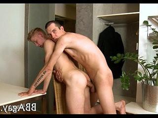 Lewd homo lovemaking with hawt dudes