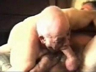 Mature gay older men and daddies playing.