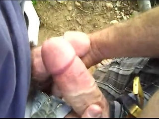 Guys Play In The Woods