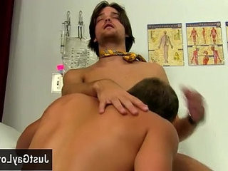 Hot gay anal masturbation Hunky patient Austin Ried is naked and