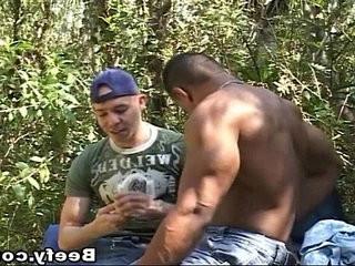 Nasty Muscled Guy Fucks Horny Dude